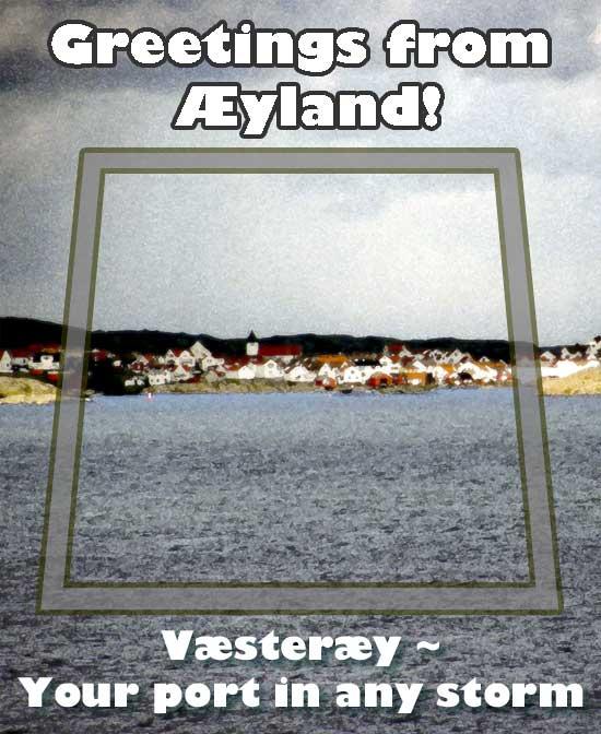 Aeyland postcard