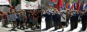 May Day: Parades