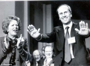 Proportional representation: Norman Tebbit and Margaret Thatcher