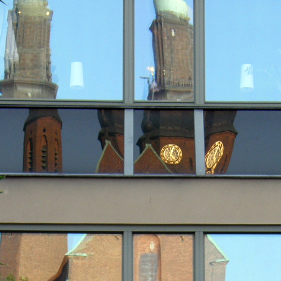 Five-past-five at Högalid's Church, Stockholm