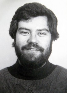 Disparate days: Myself, vintage 1980/81. Without glasses. (Oh, vanity!)