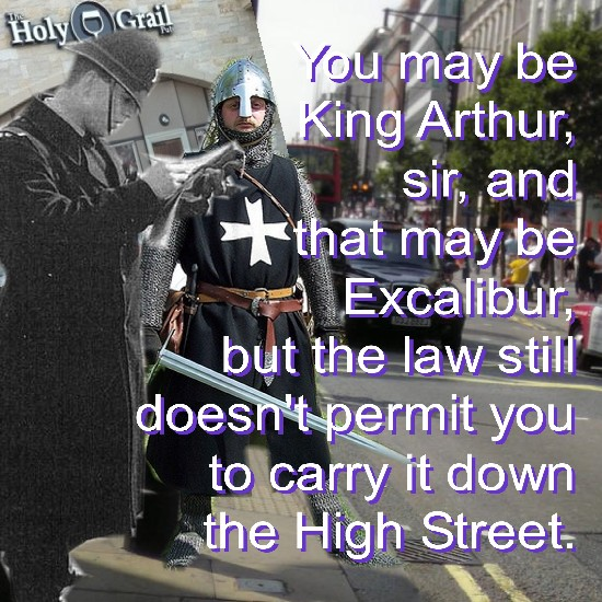 Ignominious: King Arthur's most ignominious moment