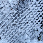 Chainlink snow pattern