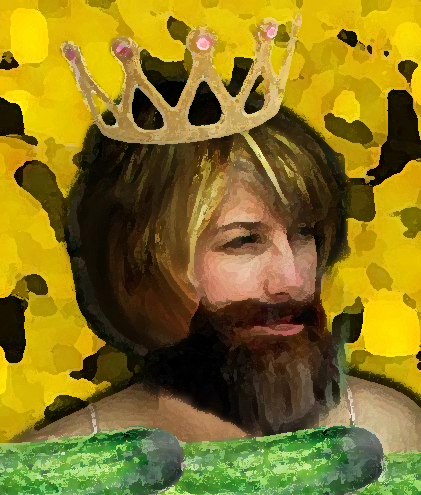 St Uncumber: The Bearded Princess
