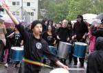 Hammarkullen Carnival: Black samba orchestra