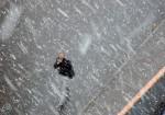 Snow-walker - Walking in the falling snow