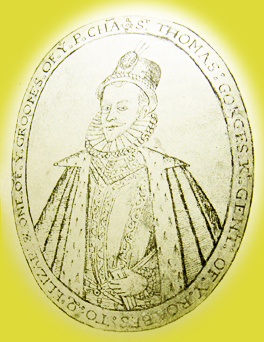 One of y Groomes of y P. Cha. Sr. Thomas Gorges K. Gent of y Roabf. S to Q. Eilzab.
