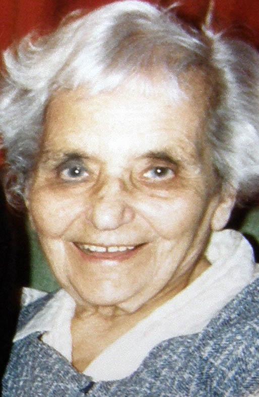 Deborah Warwick in her late eighties