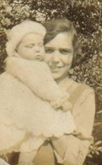 My mother Elsa aged 5 months and her mother Debbie aged 22