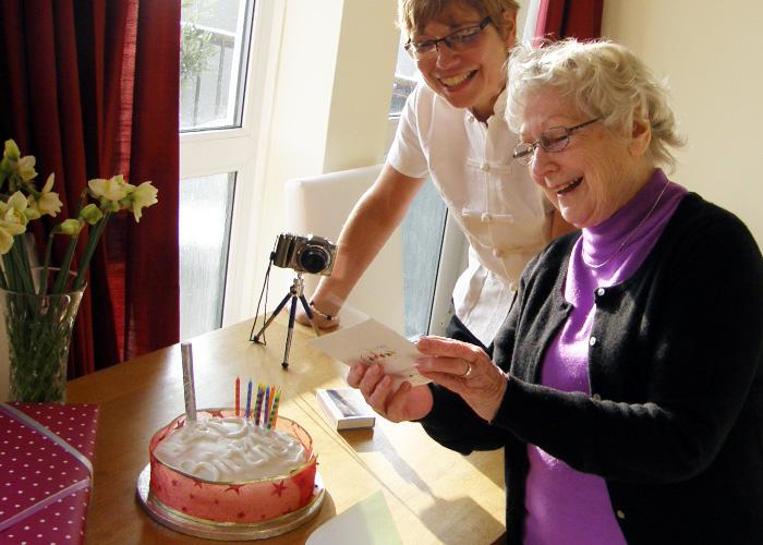 Mother's memories: Mum's birthday
