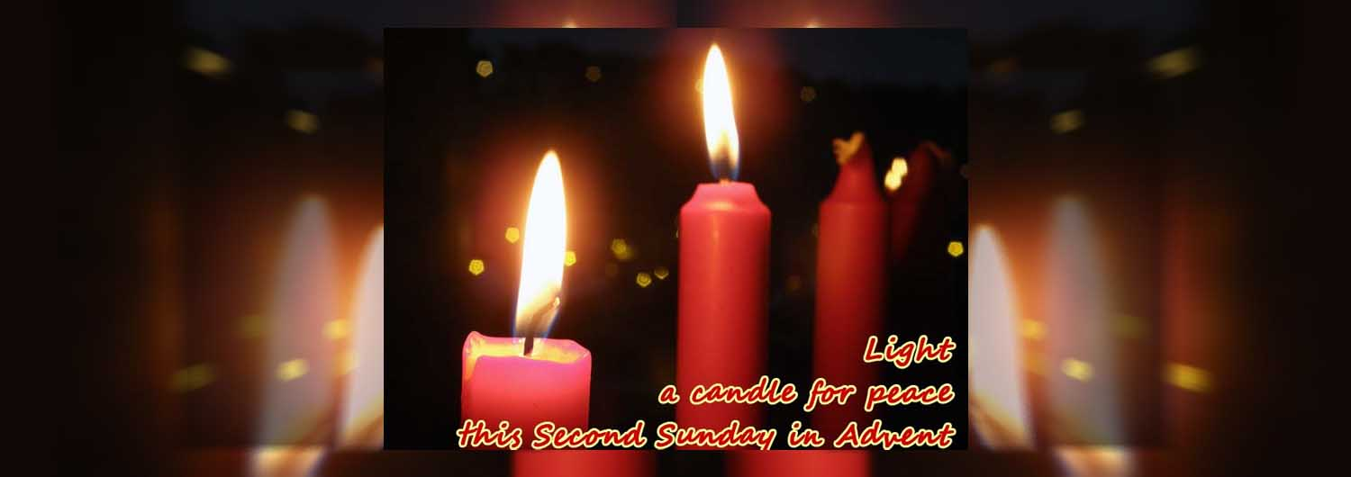 Advent candles header