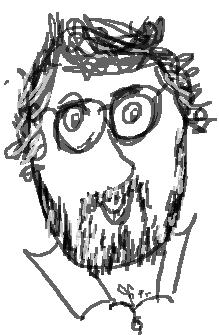John Nixon, The Supercargo, an illustrative doodle
