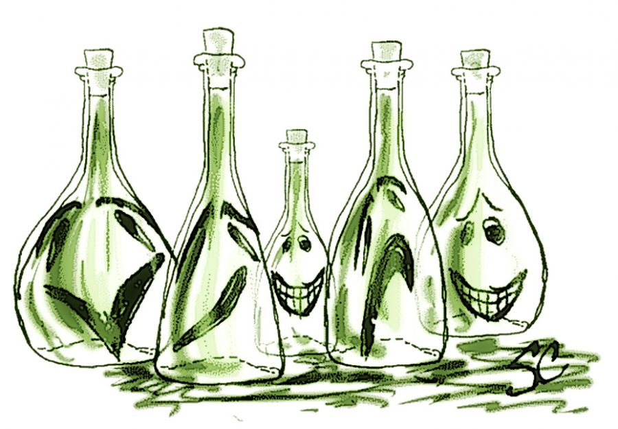 Bottled spirits