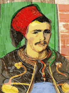 Articulating myself: Fouad the suave Zouave