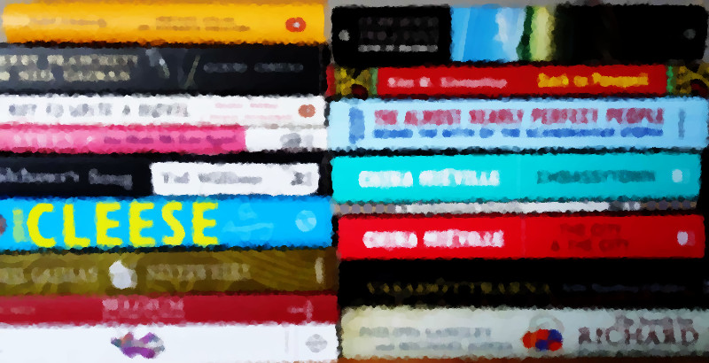Featured books distorted