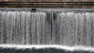 Norrköping waterfall