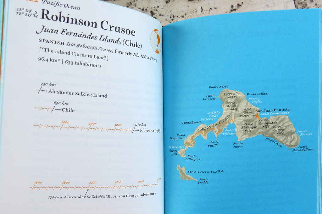 Pocket Atlas of Remote Islands Fifty Islands I Have Not Visited and Never Will