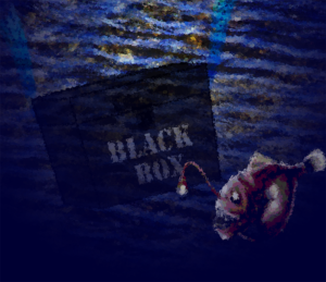 Black box and anglerfish