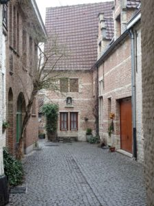 Beguine: Jesus Court in the Large Beguinage, Mechelen