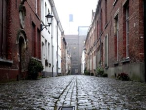 Beguine: Mechelen, the Large Beguinage - the Anchor brewery