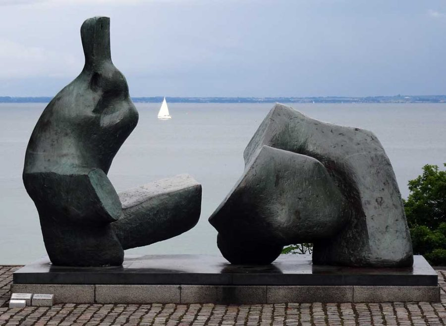 Louisiana: Henry Moore and a white sail