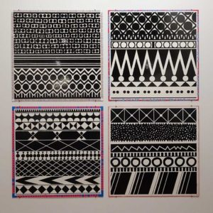 Louisiana: Poul Gernes retrospective Black and white patterns