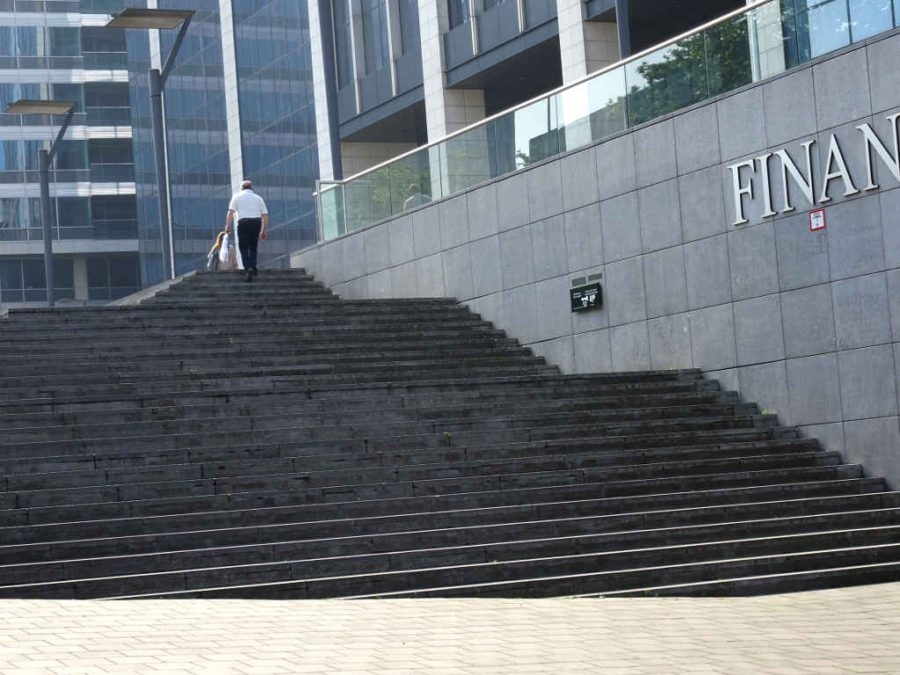 Taxes: The Finance Tower 2 - steps