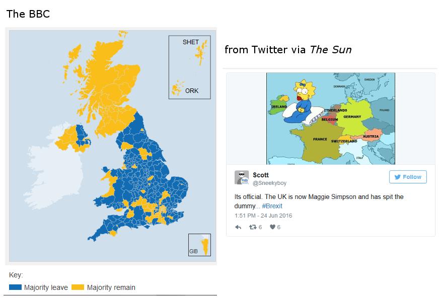 Referendum maps: BBC-Twitter-Sun