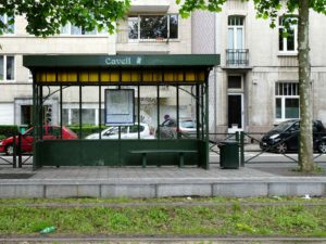 Cavell tram stop