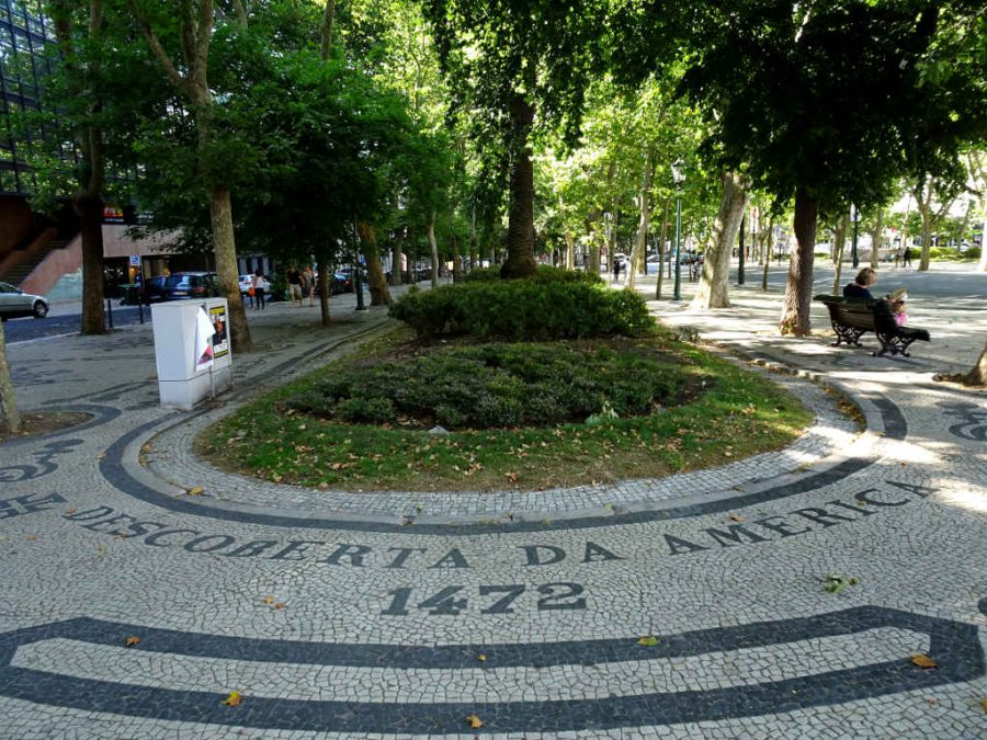 Monday - The Discovery of America 1472 - Avenida da Liberdade, Lisbon