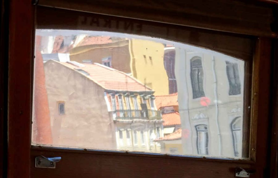 Wednesday - Bairro Alto, Lisbon - Through the tram window 2