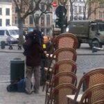 Lockdown: German news reporter