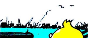 Tintin quiff
