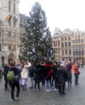 Lockdown: Tourists and Christmas tree