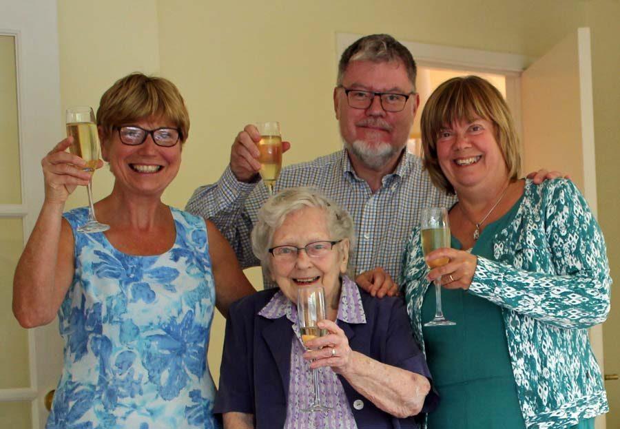 Decades: Lin, John, Agneta, Mum