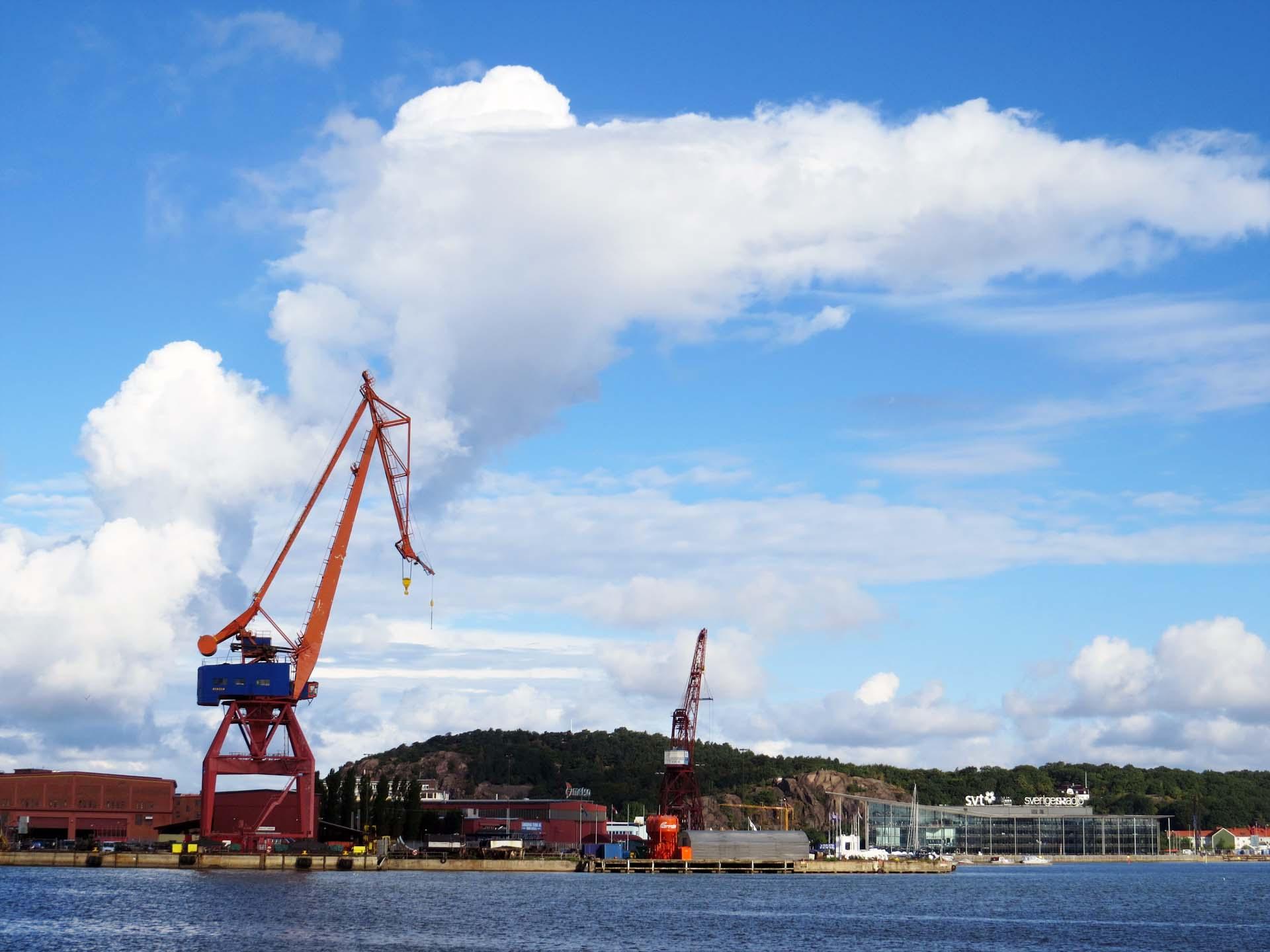 Dockside cranes 2