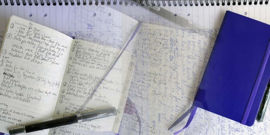 Productivity: Blue notebook combo