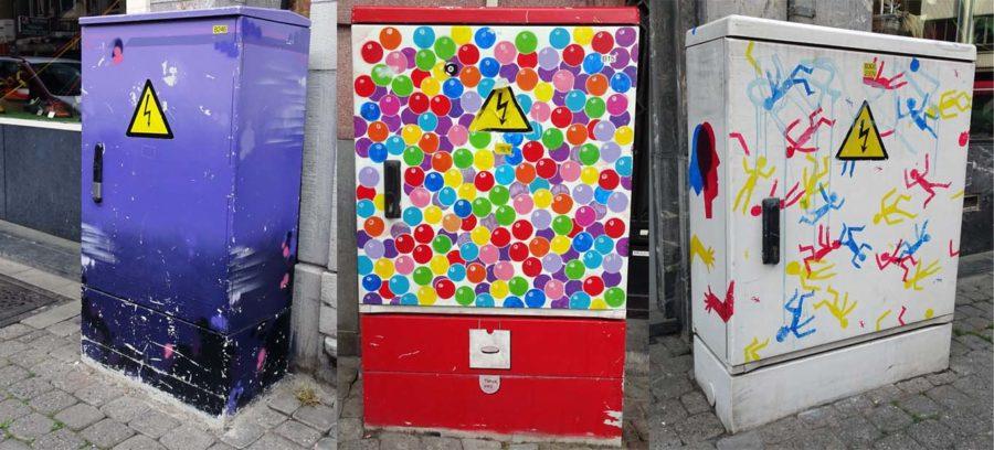 Utility boxes: Namur