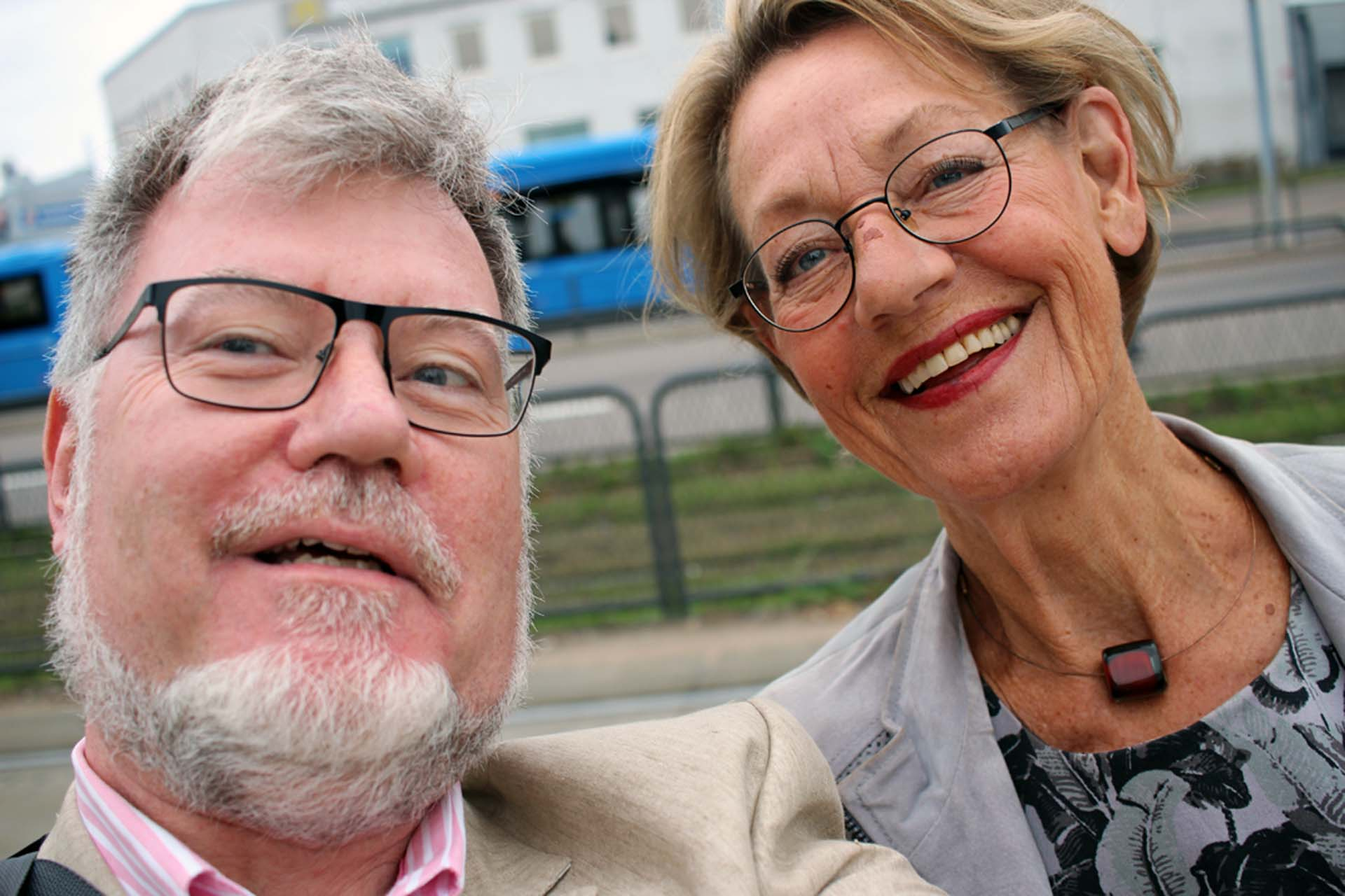 Selfie with Gudrun Schyman