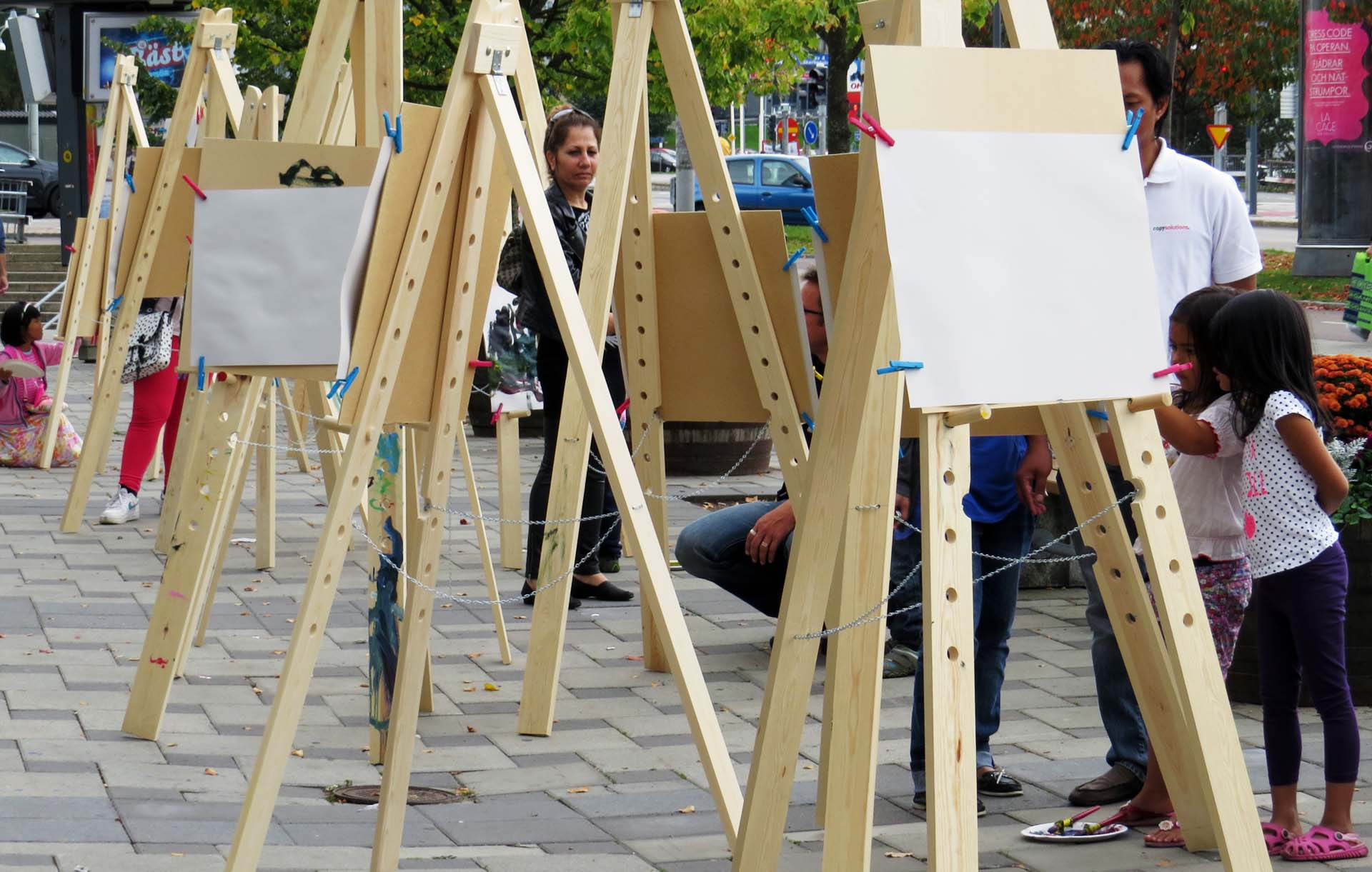 Plein-air - street art 1
