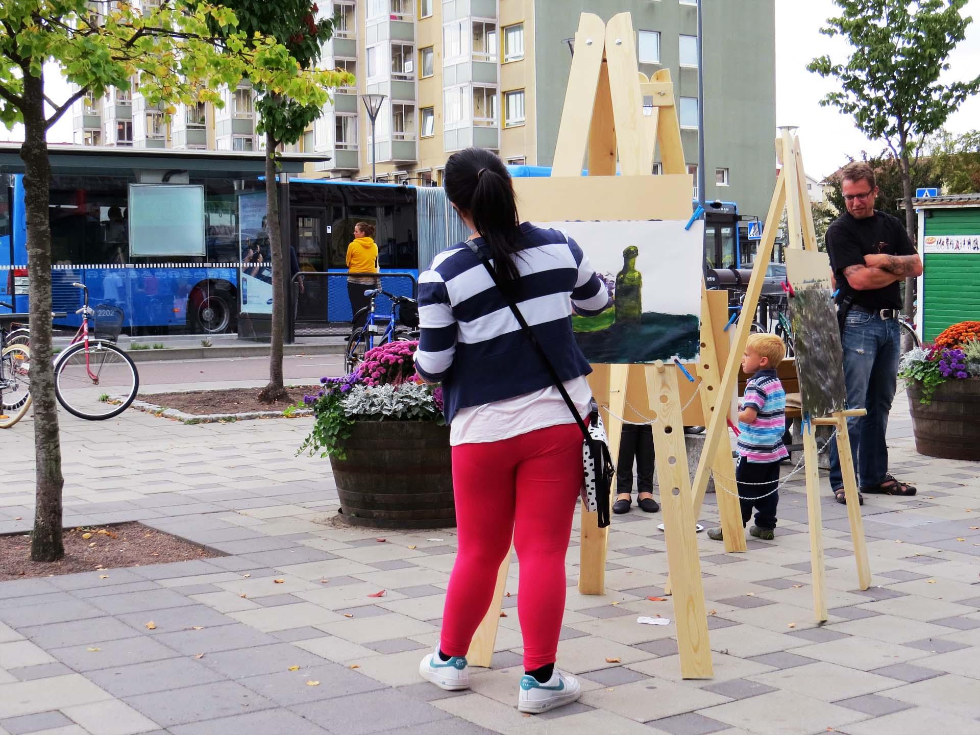 Plein-air - street art 3