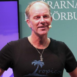 2018 Gothenburg Book Fair: John Ajvide Lindqvist