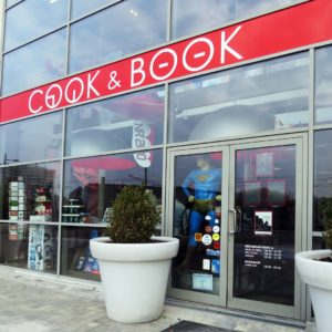 Cook and Book front entrance