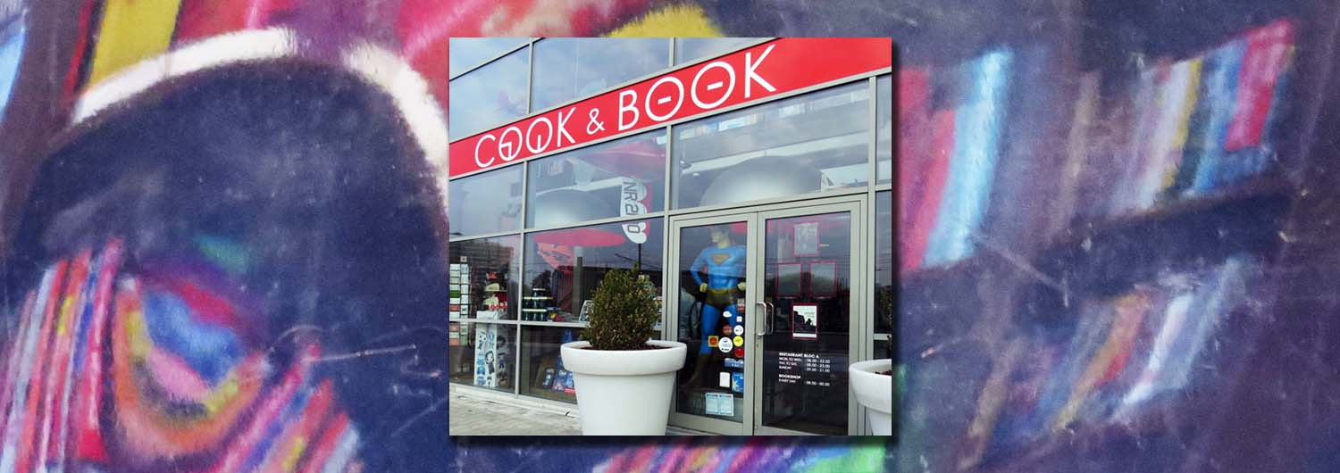 Cook and Book header