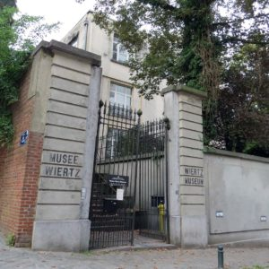 Photo catch-up: Gates to Wiertz Museum