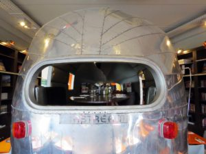 Cook and Book: In the travel section 2 - dining in the Airstream