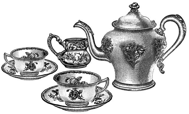 The Phrenological Conformatory: Tea-set