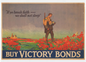 Flanders Fields: If Ye Break Faith-Victory bonds poster