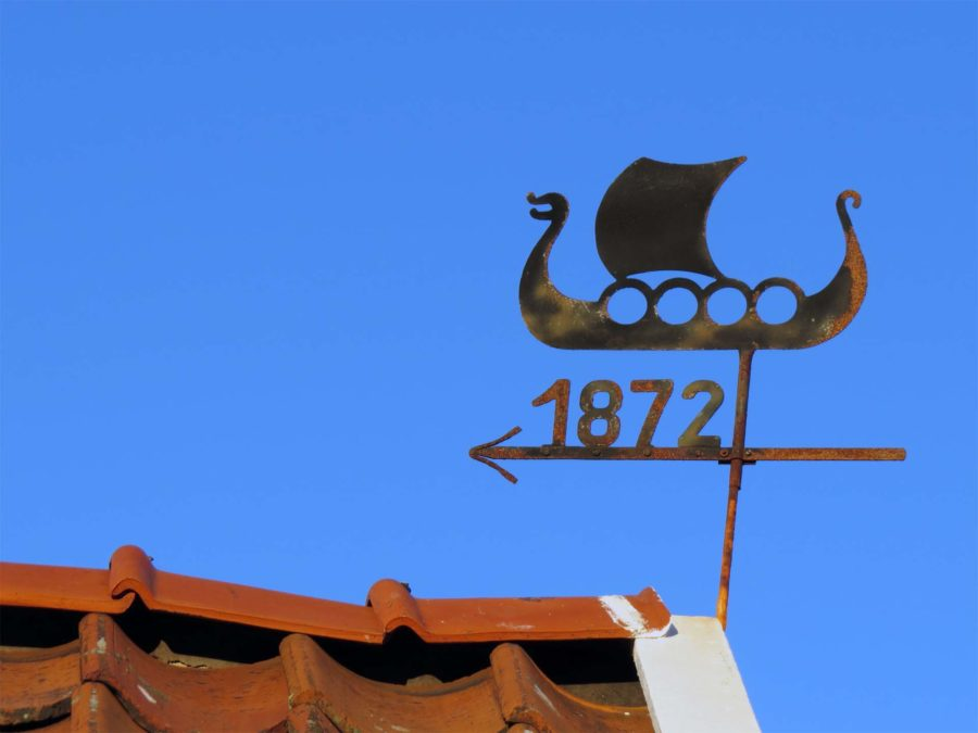 Wrong Island: Vrångö weather vane 1872