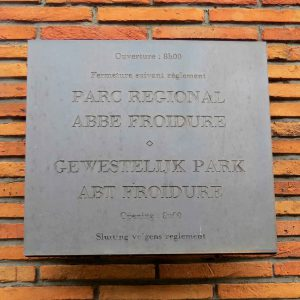 Abbe Froidure's Park Sign